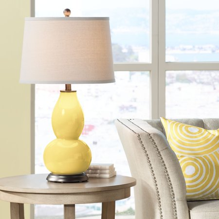 Color + Plus Daffodil Double Gourd Table Lamp