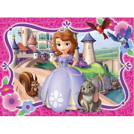 Sofia The First Cake Ideas (Sofia the First Castle  Cake Topper Edible Frosting Image 1/4)