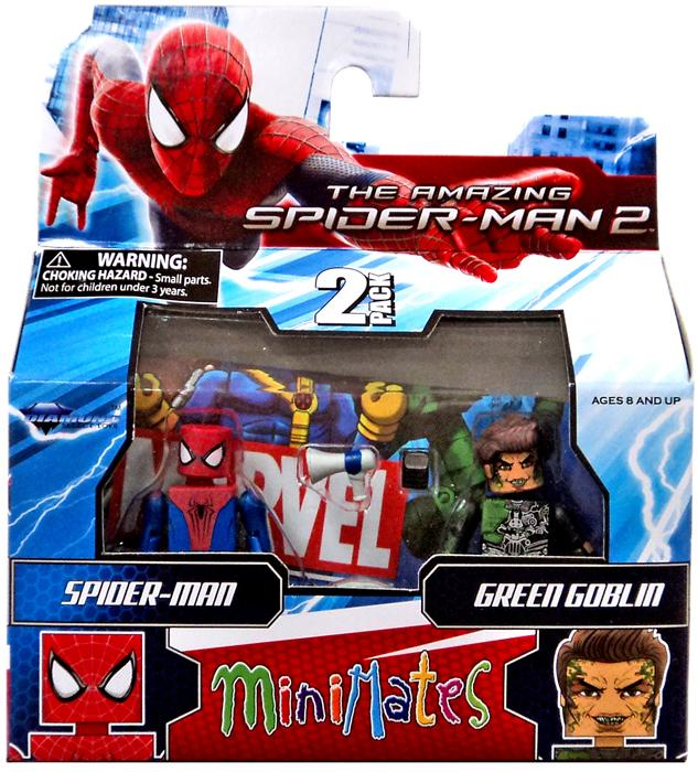 Minimates Series 56 Spider-Man & Green Goblin Minifigure 2-Pack