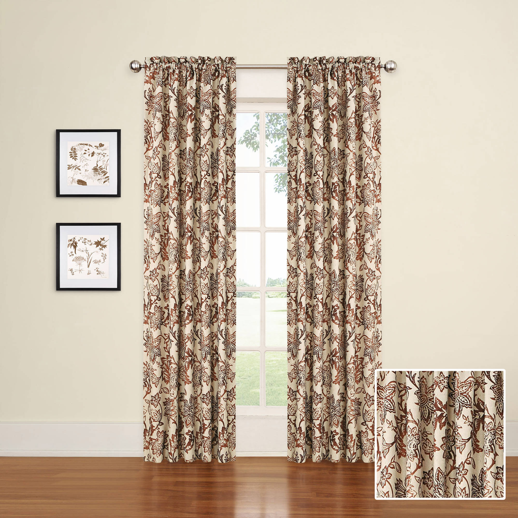 Eclipse Elliot Blackout Window Curtain Panel