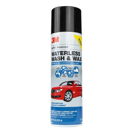 3M 39110 Waterless Wash & Wax, 16 Oz.