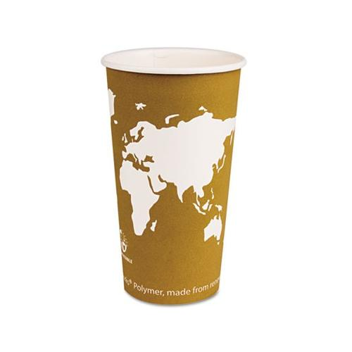 ECO-PRODUCTS,INC. World Art Renewable Resource Compostable Hot Drink Cups ECO...
