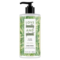 Love Beauty and Planet Daily Detox Tea Tree Oil & Vetiver Hand Wash 13.5 oz