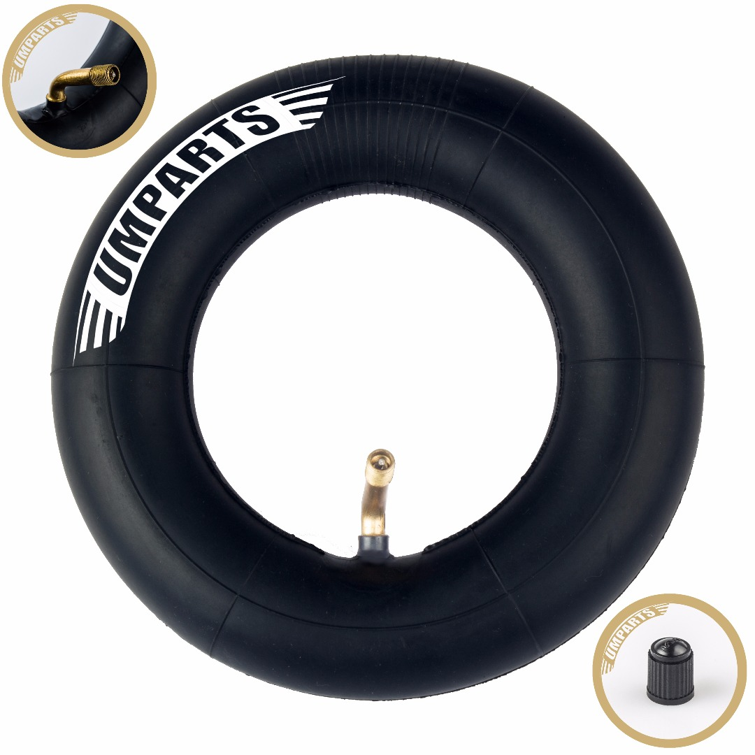 "(1 pc) 200 x 50 Inner tube (8""x 2"") Innertube with angled stem for 8"" wheel tire Storm 350"
