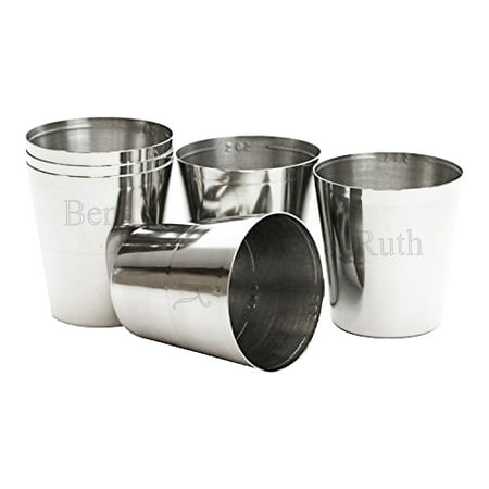 Cheap Personalized Shot Glasses No Minimum (Personalized Stainless Steel Shot)