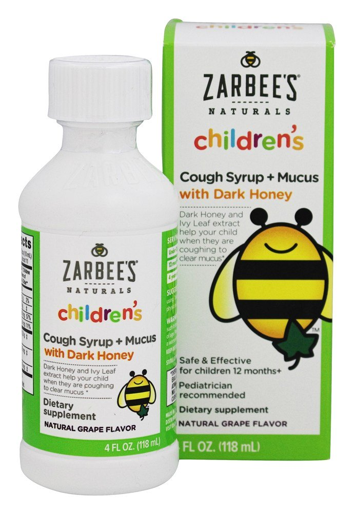 Zarbee S Naturals Children S Cough Amp Mucus Reducer Syrup