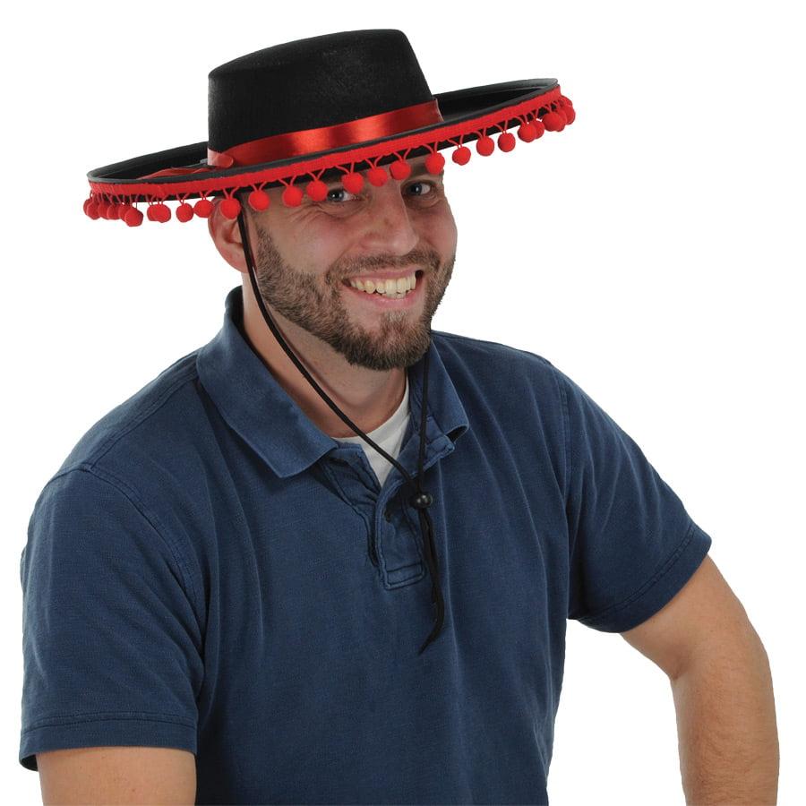 Felt Spanish Hat Adult Halloween Accessory