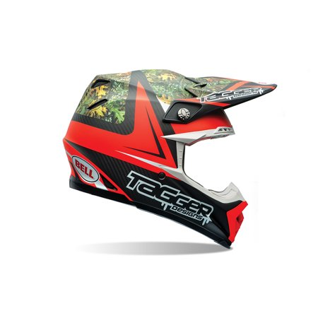 Bell Moto-9 Flex Off Road Motorcycle Helmet (Tagger Recluse, X-Large) (Non-Current Graphic) Tagger Rekluse
