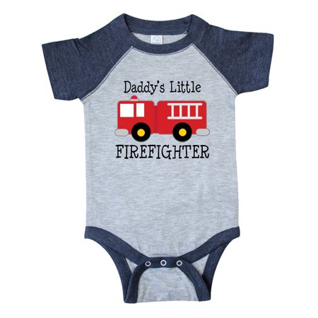 Daddy's Little Firefighter Infant Creeper