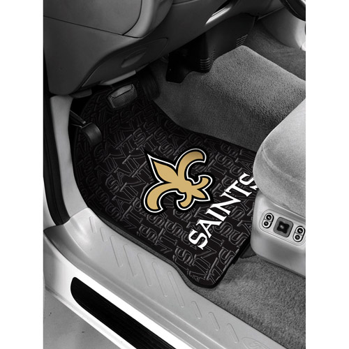 NFL - New Orleans Saints Floor Mats - Set of 2
