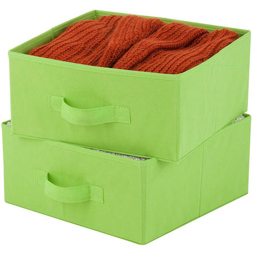 Honey Can Do 2-Pack Lime Non-Woven Storage Drawers