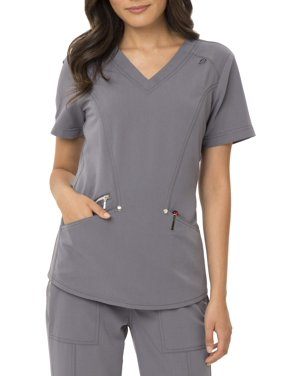 9364c8ee2ea Product Image Scrubstar Women's Signature Fashion Collection Modern Fit  Stretch Scrub Top