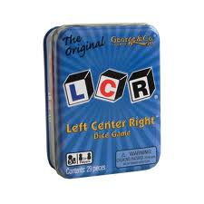 The Original LCR? Left Center Right? Dice Game (Left To Right Halloween Story)