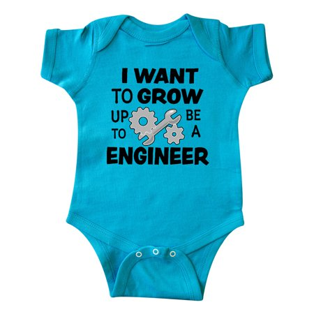I Want To Grow up To Be a Engineer Infant Creeper