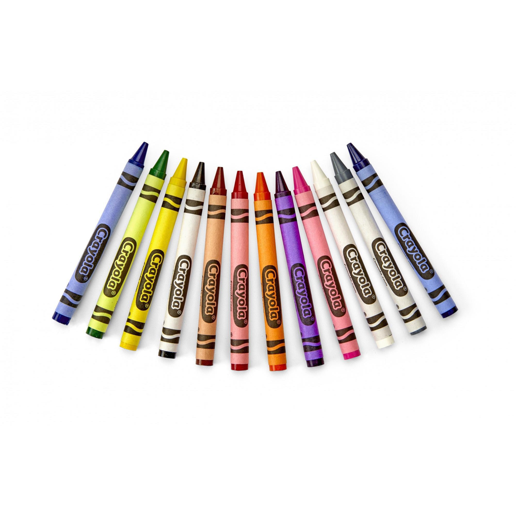 Crayola 24-Ct Crayons 50¢ Ship...