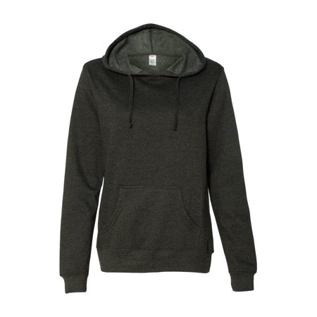 Independent Trading Co. Fleece Juniors' Lightweight Pullover Hooded Sweatshirt ()