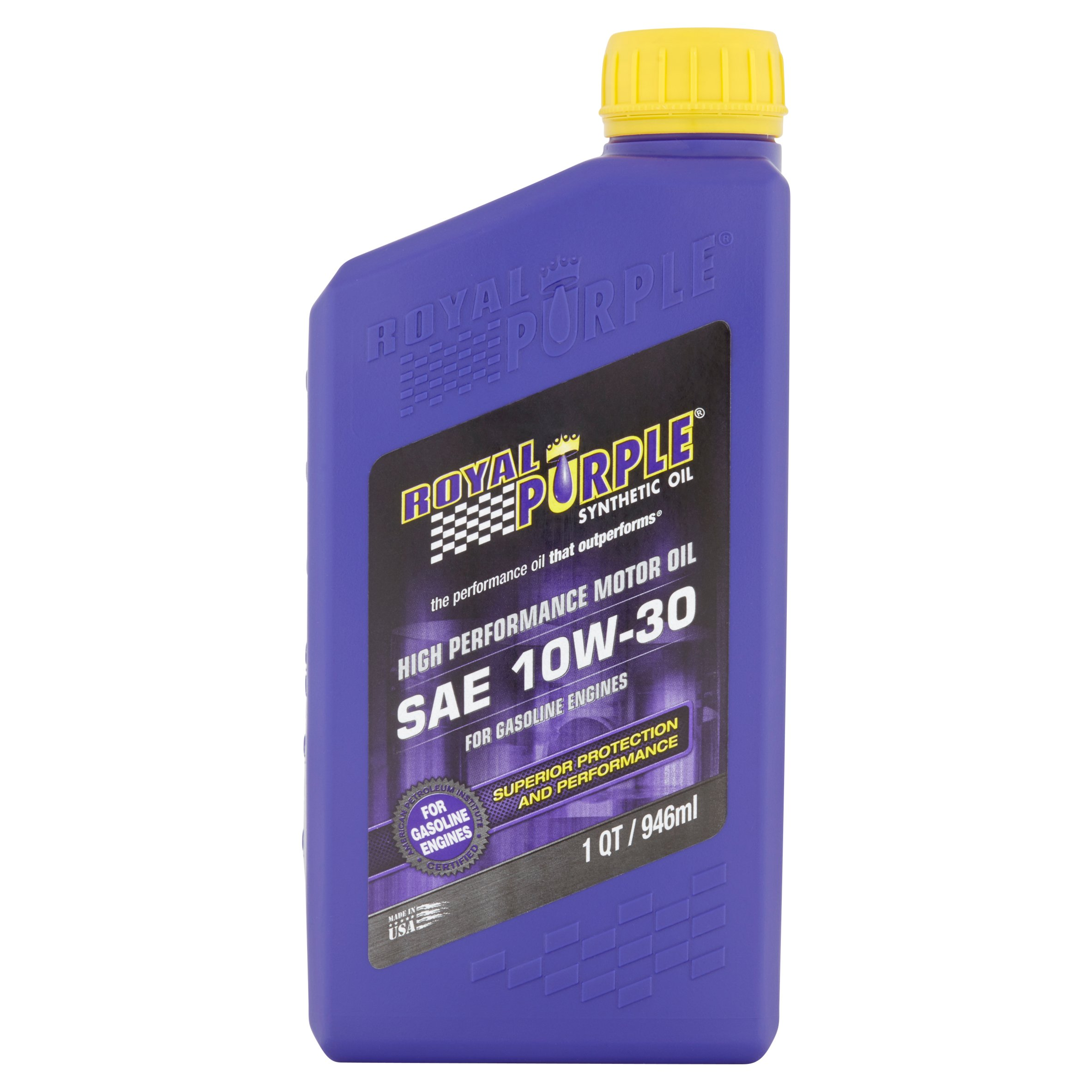 Royal Purple SAE 10W-30 Synthetic Oil, 1 qt