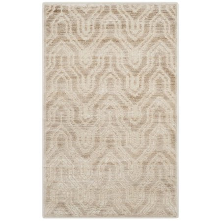 """Safavieh Paradise 4' X 5'7"""" Power Loomed Viscose Rug in Stone - image 2 of 2"""