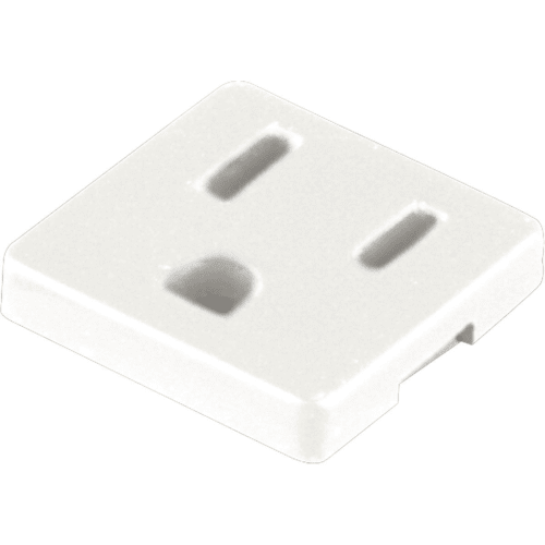 Progress Lighting P8608 Grounded Convenience Outlet for Undercabinet Lights with a GCO Knockout