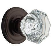 Baldwin 5080.102.IDM Filmore Oil-Rubbed Bronze Half-Dummy Crystal Knob