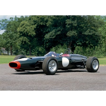 1964 BRM P261 Formula 1 single-seat racing car fitted with Tasman spec 20 litre engine Country of origin United Kingdom Canvas Art - Panoramic Images (18 x 24)