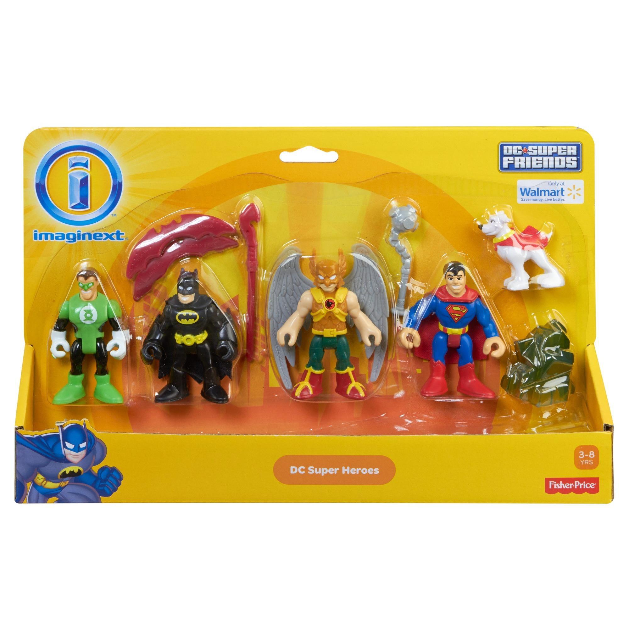 imaginext  Imaginext DC Super Friends Heroes Action Figures Play Set -