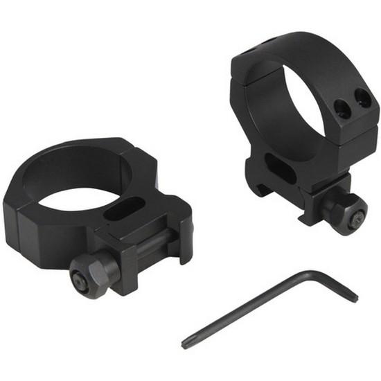 Tasco 34mm Tactical,Detachable Rings, Low, Matte Black, Clam Package by Tasco
