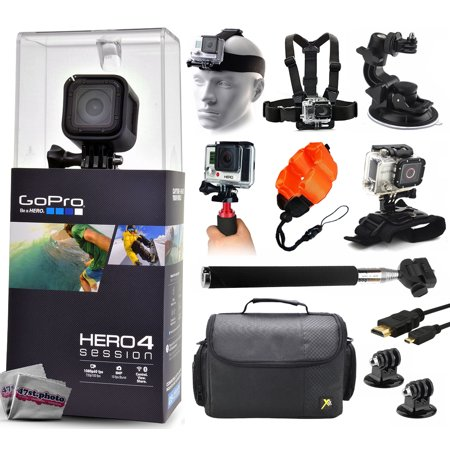 gopro hero 4 hero4 session chdhs 101 with headstrap chest harness suction cup handgrip. Black Bedroom Furniture Sets. Home Design Ideas