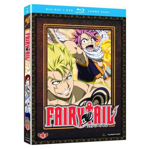 Fairy Tail: Part 4 (Blu-ray   DVD)