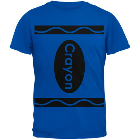 Crayon Costume Blue T-Shirt](Clever Halloween Shirts)