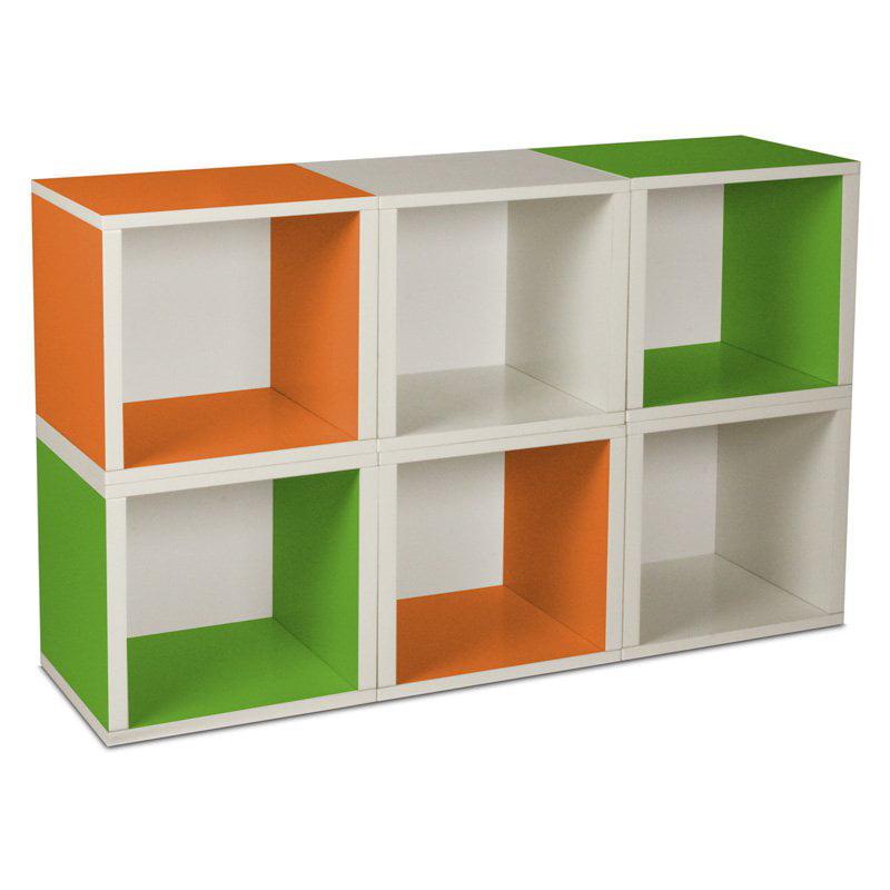 Way Basics Modular 6 Cube Bookcase