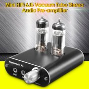 Mini Stereo AMP Class A Vacuum Tube Buffer Headphone Amplifier Stereo HiFi Earphone Amp