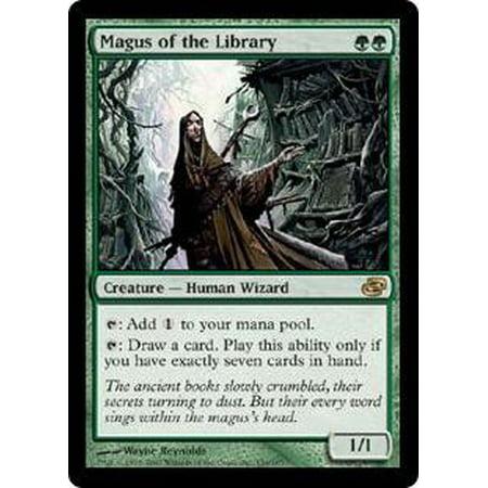 MtG Planar Chaos Magus of the Library [Foil] Planar Chaos Single Card