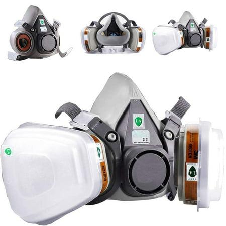 1pcs Gas Proof Active Carbon Mask - image 2 de 7