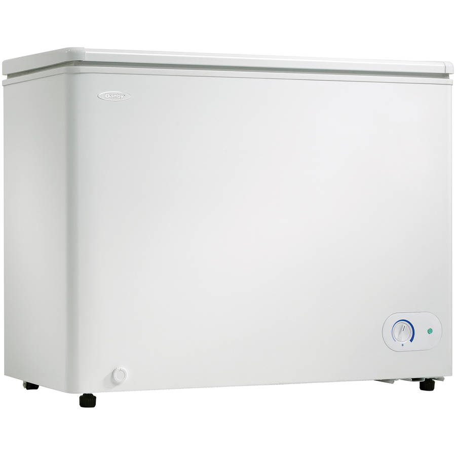 Chest Freezer, White ,Danby, DCF072A2WDB1