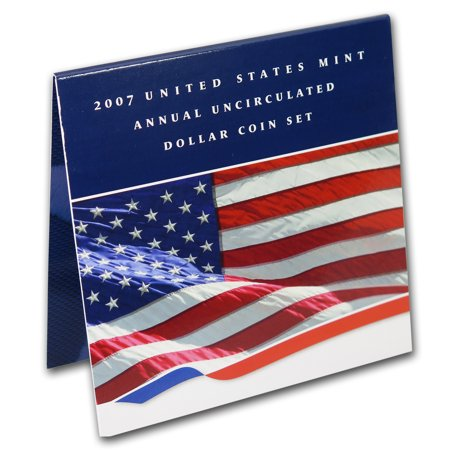 1979 Us Mint Set - 2007 U.S. Mint Uncirculated Dollar Set (w/Burnished Silver Eagle)