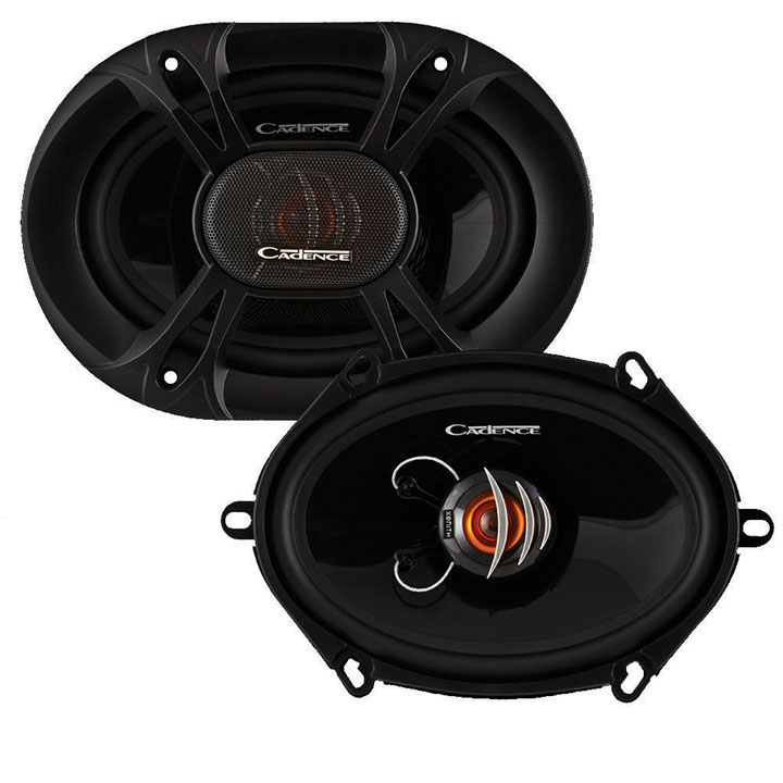 "Cadence 6x8/5x7"" 2-way Speakers 150W peak"
