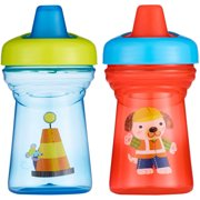 The First Years Soft Spout Sippy Cup, BPA-Free - 9oz, 2 pack Mouse and Dog