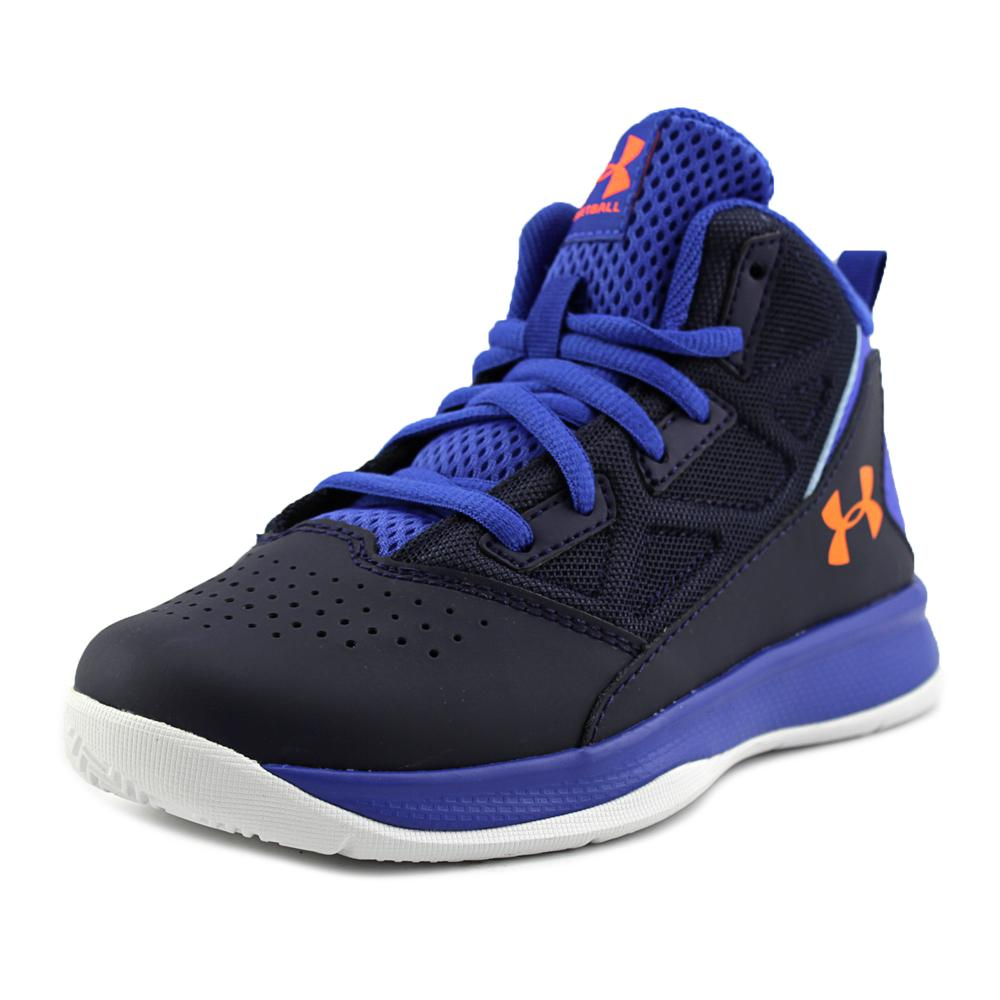 Under Armour BPS Jet Mid   Round Toe Synthetic  Sneakers