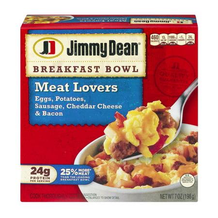 Jimmy Dean Breakfast Bowl Meat Lovers, 7.0 OZ - Walmart.com