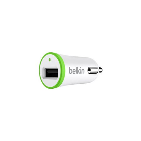 Belkin BOOST?UP Car Charger - Car power adapter - 12 Watt - 2.4 A (USB) - green