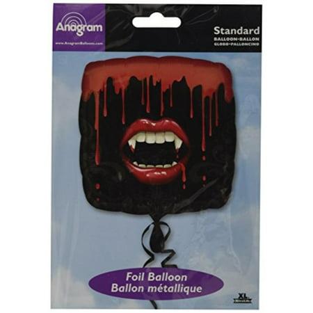 Halloween Vampire Fangs Red Teeth 18