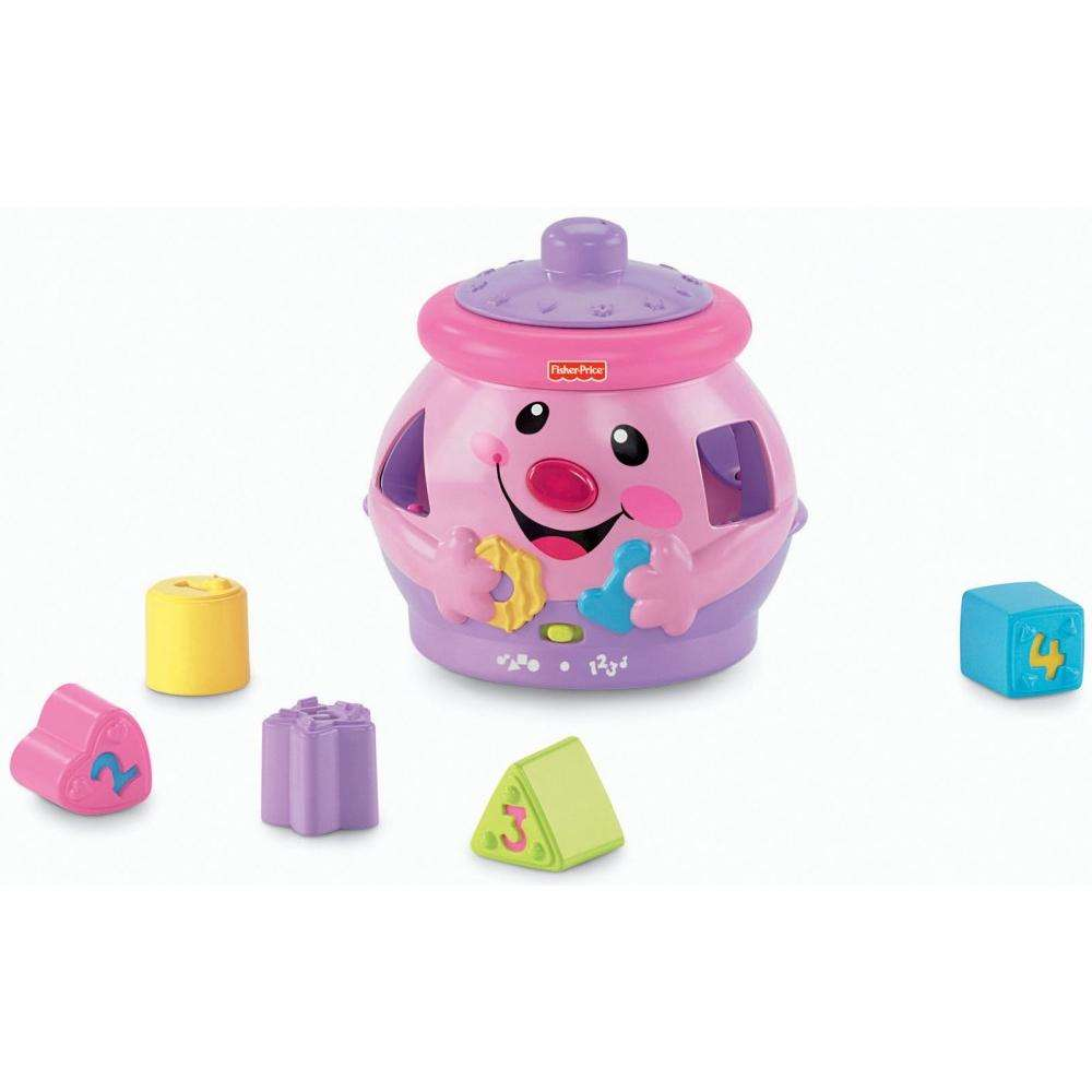 Fisher-Price Laugh & Learn Pink Cookie Shape Surprise