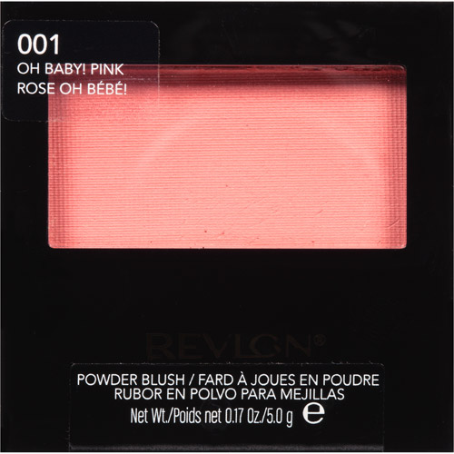 Revlon 001 Oh Baby! Pink Powder Blush, 0.17 oz