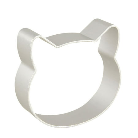 Unique Bargains Kitchenware Cartoon Cat Head Design Cake Mold Biscuit Cookie - Design Biscuit