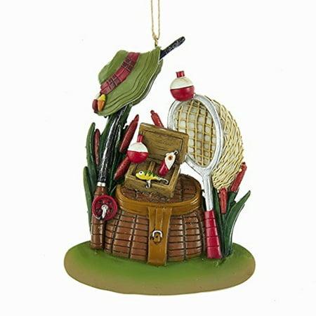 Fishing Gear Christmas Tree Ornament Fish Outdoors Decoration J8395 New