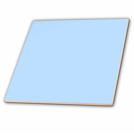Baby Tile - 3dRose Baby Powder Blue - Ceramic Tile, 12-inch