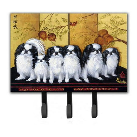 Carolines Treasures MH1060TH68 Japanese Chin Tea House Leash & Key Holder - image 1 de 1