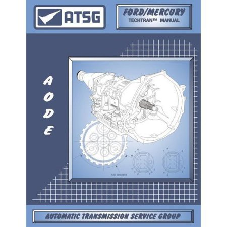 ATSG 1992-95 Ford AOD-E Transmission Manual By Wellington Ship from US