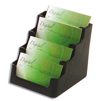 def70404 - deflect-o four-pocket countertop business card - Deflect O-stand Tall Countertop